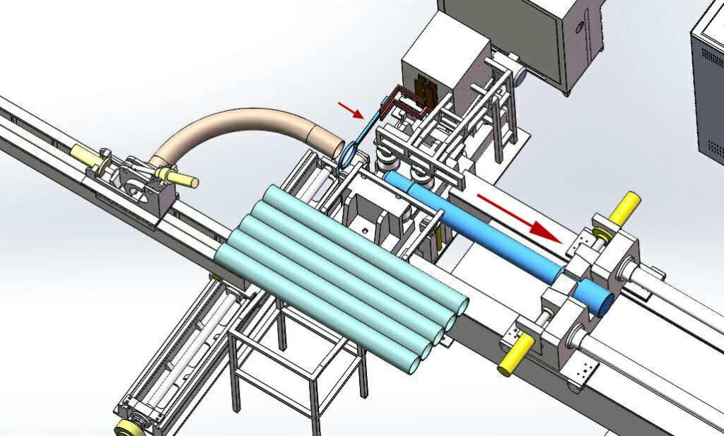 Another World's First In Induction Bending?