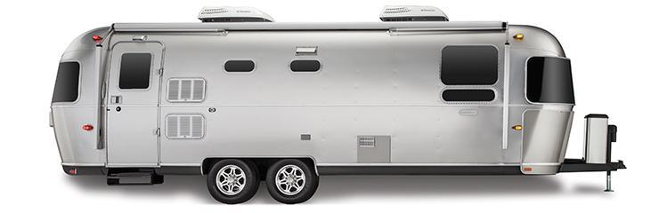 Air Stream Trailers Now Use Extrusions Curved On An AL-1e
