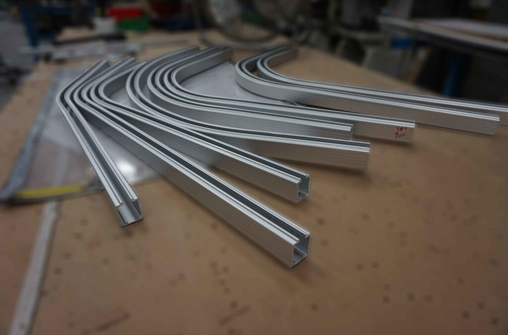 The Inventor Of The Side Folding Security Grille/Closure Invests In CNC Bending From Inductaflex.