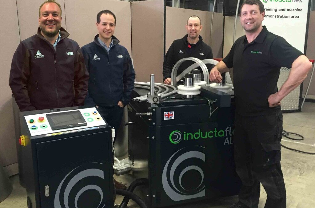 North American Demonstration And Parts Centre Opens For Inductaflex